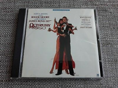 Octopussy Cd Soundtrack - Deluxe Ryko Issue - 007 - John Barry