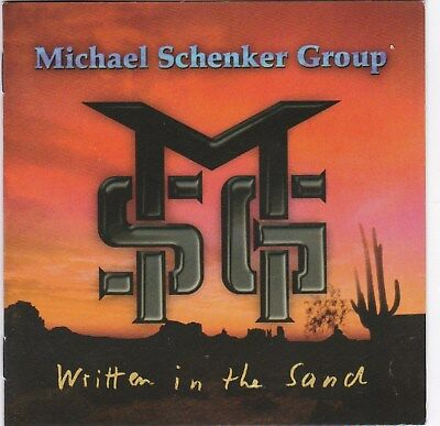 Michael Schenker Group – Written In The Sand RARE CD! FREE SHIPPING!