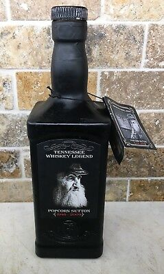Popcorn Sutton Limited Edition Empty Bottle Collectible w/ bottle TAG Moonshine