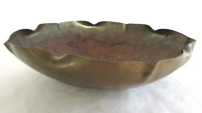 Vintage Hand Made Arts and Crafts Copper Bowl - Craftsman Co. - 1930s-1940s