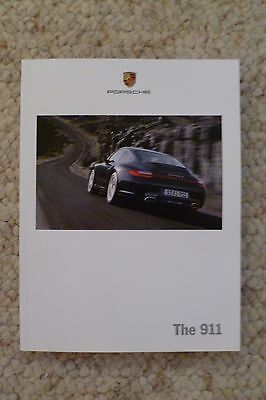"""2010 Porsche 911 """"The 911"""" Showroom Advertising Sales Brochure RARE!! Awesome"""