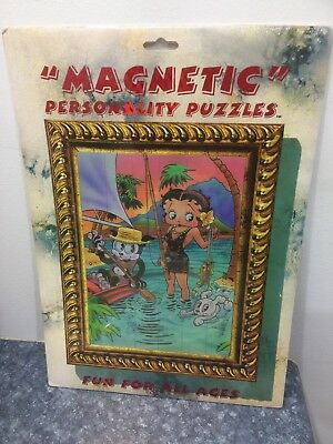 Betty Boop, Pudge, Refrigerator Magnet - Magnetic Personality 36pc Puzzle 1997