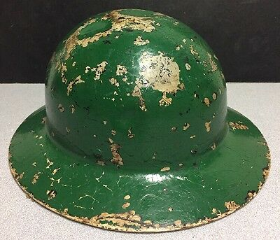 Vintage WWII US Government Old OCD Helmet Military Army Style Collectible Early