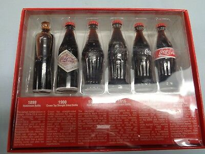 Evolution of the Coca-Cola bottle, 1899 to 1986, NIB (S-37)