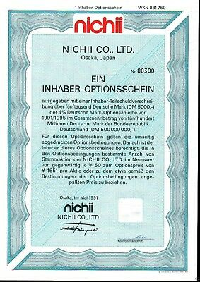 Lot 10 X Nichii Co., Ltd. 1er-OS 1991