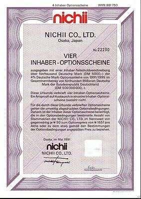 Lot 10 X Nichii Co., Ltd. 4er-OS 1991