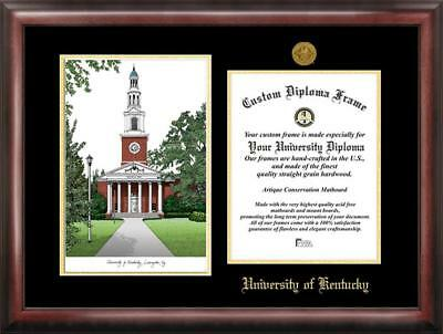 UNC CHARLOTTE DIPLOMA Frame with Limited Edition Lithograph ...