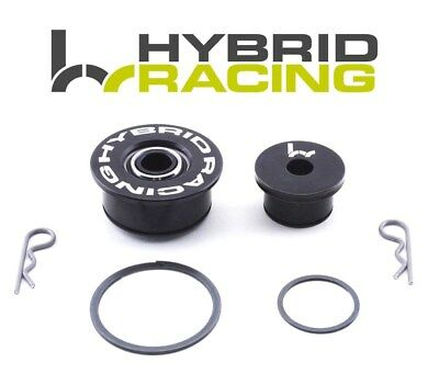 Hybrid Racing Billet Shifter Cable Bushings For 02-06 Rsx Civic Si 06 Ep3 02-05