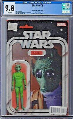 STAR WARS # 12 Action Figure Variant Cover CGC 9.8 Marvel 2015
