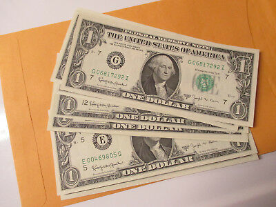 Lot Of1- 1963-B $1 Federal Reserve Notes  (Barr Note) You Recive 1 Note Only
