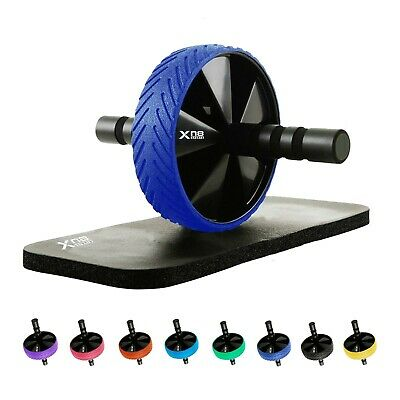 XN8 Abdominal Core strength Pro Ab Wheel Roller With Knee Mat Exercise Fitness U