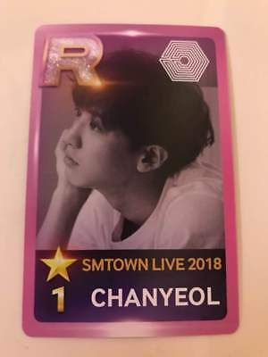 EXO CHANYEOL Official Photocard SMTOWN in OSAKA Concert Limited 2018