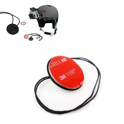 Buckle Tether Strap w/ 3M Adhesive Mount For GoPro 7 6 5 4 3+ 3 2 1 Xiaoyi 4K