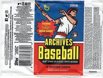 2018 Topps Archives Baseball *You Pick From List* (1-320) Nice Cards Just Added