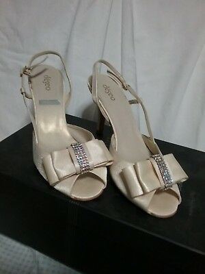 Deseo Marian Ivory Wedding shoes
