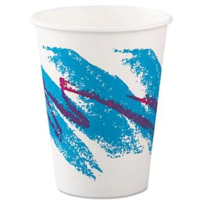 Solo Cup Company 412JZJ Jazz Paper Hot Cups, 12oz, Polycoated, 50/bag, 20