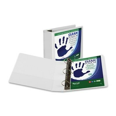 """Samsill Antimicrobial D-ring Binder - Letter - 8.50"""" X 11"""" - 780 (sam16297)"""