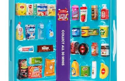 *NEW* Coles Little Shop Mini Collectables - INDIVIDUALLY PRICED!!!