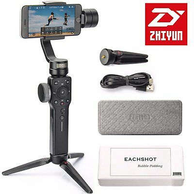 Zhiyun Smooth 4 3-Axis Handheld Gimbal Stabilizer for all smartphones, Negro
