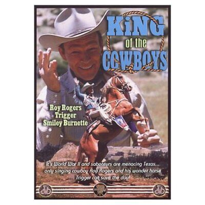King Of The Cowboy (DVD,2003)