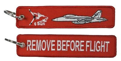 EA-18G Growler Remove Before Flight Key Ring Luggage Tag