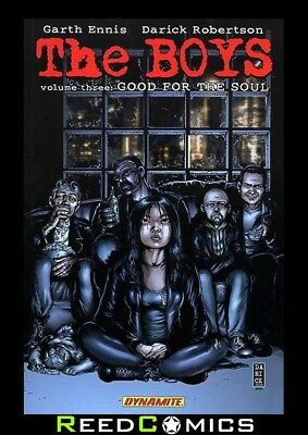THE BOYS VOLUME 3 GOOD FOR THE SOUL GRAPHIC NOVEL New Paperback Collects #15-22