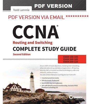 CCNA Routing and Switching Study Guide: Exams 100-105, 200-105,200-125