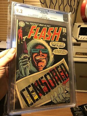The Flash 192 CGC 9.2 White Pages