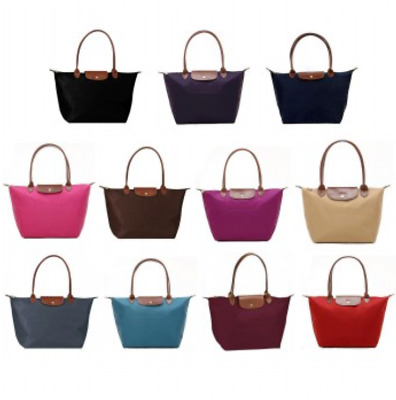 New Longchamp Le Pliage Large 1899 Nylon Tote Bag assorted Color Authentic