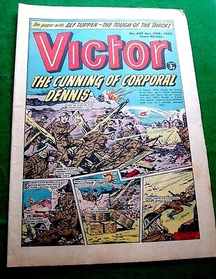Royal Hampshire Regiment In Villers Bocage France Ww2 Cover Story  Victor 1974
