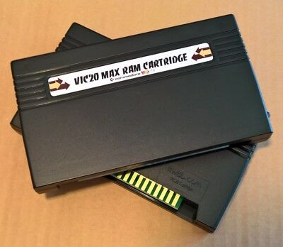 MAXRAM Cartridge - Jumperless / Switchless VIC20 3k 8k 16k 24k 32k 35k Ram Pack
