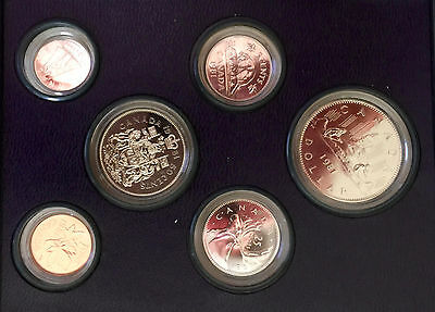 1981 Royal Canadian  Mint 6-Coin Uncirculated Specimen Set