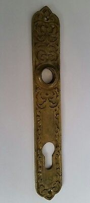 Antique Vintage Embossed Metal Door Keyhole Door Knob Plate