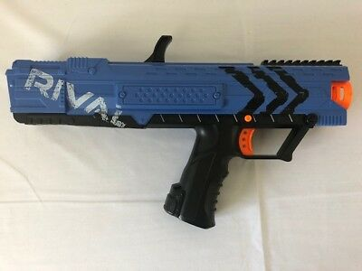 NERF Rival Apollo XV-700 Blaster Blue Gun Only Kids Toy Pre-Owned Tested Working