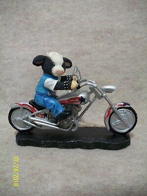 Silver Star - Motorcycle Figurine