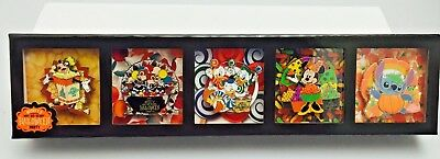 Walt Disney World Not So Scary Halloween Party 2018 Pin Set Of 5 1000 Limited