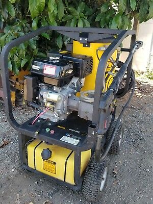 Landa MVC4-3000e Industrial hot water Pressure Washer