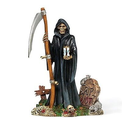 Dept 56 Halloween Snow Village The Grim Reaper 810636 NEW Skeleton Scary NIB