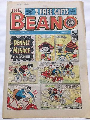 DC Thompson THE BEANO Comic. Issue 1891 October 14th 1978 **Free UK Postage**