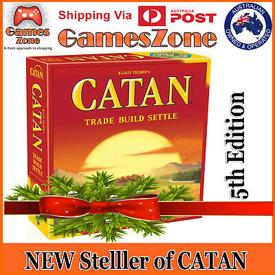 Settlers of Catan 5th edition Family Board Game Core Set Brand new