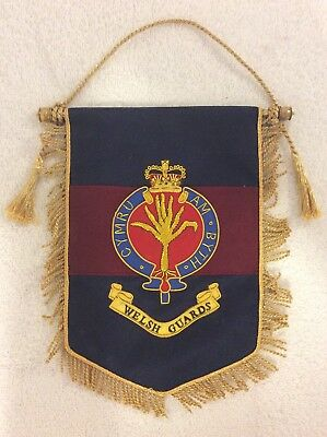 Welsh Guards Wall Hanging
