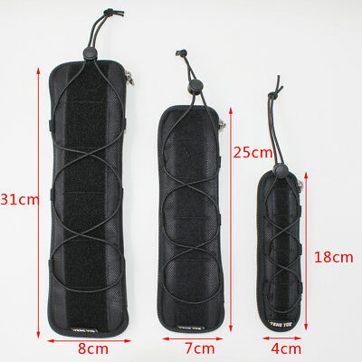 Military Knife Guard Cover Blade Protector Molle System Waist Pack Bag Belt