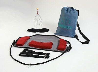 Cervical Relaxation Hammock for men & women, portable relief from neck pain.
