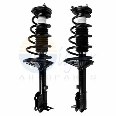 2 Rear Struts Shocks & Coil Spring Assembly for 2000-2005 Hyundai Accent