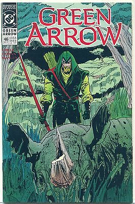 Green Arrow #46 (May 1991, DC), VF/NM