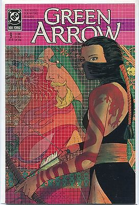 Green Arrow #9 (Oct 1988, DC), VF/NM