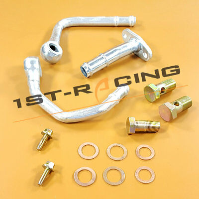 Kinugawa Turbo Oil Water Line for SUBARU WRX STI TD05 TD06 Braided Steel Line