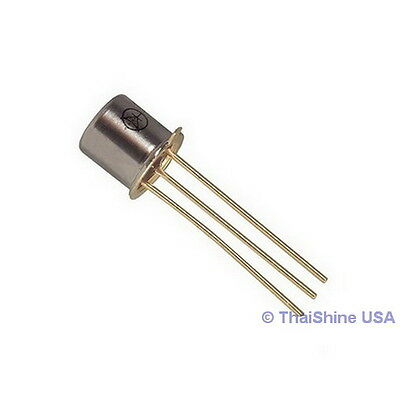 10 x 2N2222A 2N2222 TO-18 NPN 40V 0.8A Transistor - USA SELLER - Free Shipping