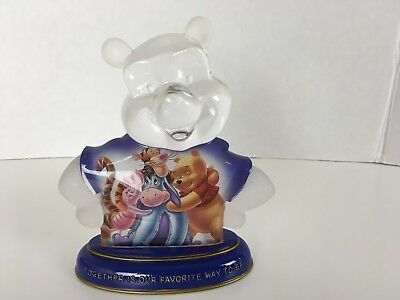 Bradford Exchange It's Clear Pooh-riffic Pooh Bear Together Is Our Favorite Way