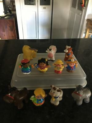 FISHER PRICE Little People  / ANIMALS  - (11)  ANIMALS/ PEOPLE - BUY NOW